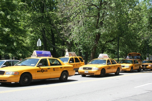 NYC Cabs, New York 2008, Katy Warner