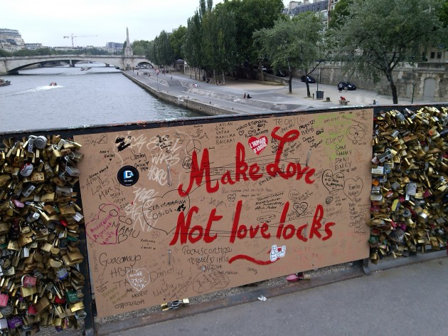 Love Locks Paris